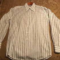 Versace Classic Stripped Long Sleeve Fitted Shirt Photo