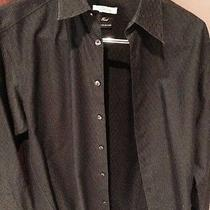 Versace Collection Black Button Up Photo