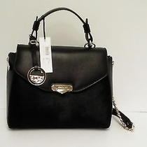 Versace Collection Handbag Tote Cavallino Vitello Stampa Alce Satchel Pony Hair  Photo