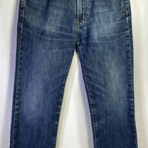 Versace Collection Italian Designer  Men's Classic Blue Denim Jeans Size 32 Photo