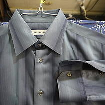 Versace Collection Size 16 - 34/35 Gray Dress Shirt Photo