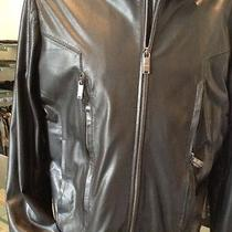 Versace Collections Mens Leather Jacket New Collection  Photo