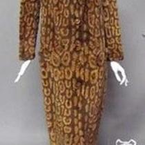Versace Couture Vintage 1995 Rabbit Coat Photo