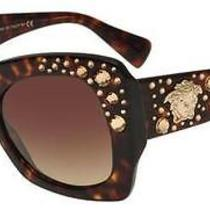 Versace Crystal Charm Ve 4308b (108/13) 54-22-140 Original Sunglasses Photo