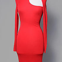 Versace Fitted Red Dress Photo