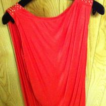 Versace for h&m Grecian Red Dress With Garment Bag and Hanger Photo