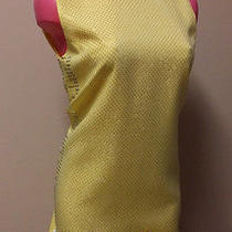 Versace for h&m - Size 8 - Yellow Studded Dress Photo