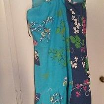 Versace for h&m Turquoise Floral  Dress Size 34 Brand New With Tags Photo