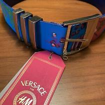 Versace for h&m Women Belt Size Small Photo
