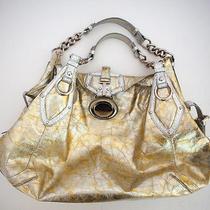Versace Gold and Silver Large Handbag Photo