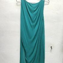 Versace Green Rayon Dress Photo