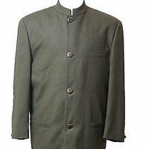 Versace Istante Cashmere Wool Suit Blazer Jacket Sz 40 Us- 50 It  Photo