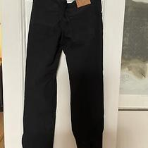 Versace Italy Jeans Couture Mens Black Pants Sz 33 Photo