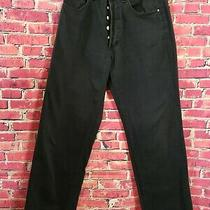 Versace Jeans Couture Ittierre Man Button Fly Italy Black Sz 31 45. 100% Cotton  Photo