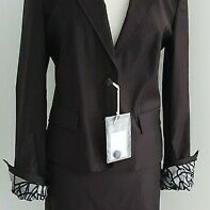 Versace Jeans Couture - Ladies Brown Skirt Suit - Eu46 / Uk12/14 - Bnwt Photo