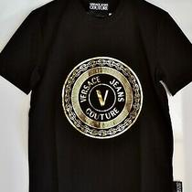 Versace Jeans Couture Men Black Tshirt Size L Photo
