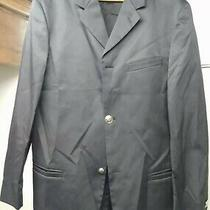 Versace Jeans Couture Navy Blazer Silver Medusa Btn Jacket Italy Mens Style 42 Photo