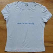 Versace Jeans Couture Short Sleeve Stretch Top (M) Made in Italy Photo