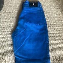 Versace Ladies Jeans Couture Size 29 (8) Royal Blue Photo