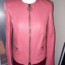 Versace Leather Jacket Photo