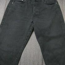 Versace Man Black Jeans Pant Us Size Large Italy Made Waist 36