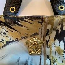 Versace Man Cross-Body Medusa Messenger Runway Bag New Earth Tones Rare Nylon Le Photo