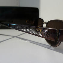 Versace Medusa Sunglasses With Case Brown  Photo