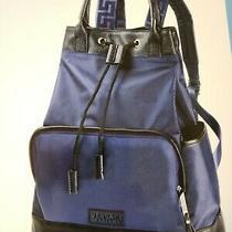 Versace Men's Backpack/rucksack Gym Weekend Travel Bag New Photo