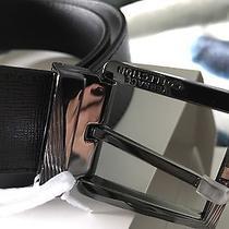 Versace Men's Leather Belt 36 Bnwt Photo
