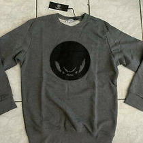 Versace Men's Sweater Grey Size Xl Photo