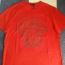 Versace Original T-Shirt Red Medusa (With Tags) Photo