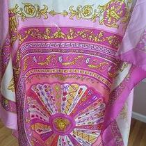 Versace Pink Scarf 100% Auth Photo