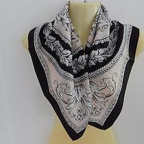 Versace Print Silk Scarf Small Size 25