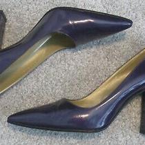 Versace Pumps -Purple Leather 3