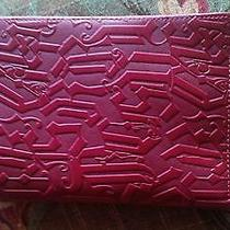 Versace Red Leather Wallet Photo