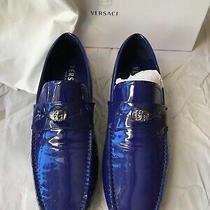 Versace Shoes Made in Italy Purple Brand New Size 41 Photo