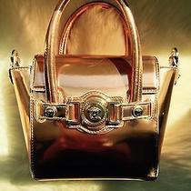 Versace Short Handle Bag Rose Gold 1750 Photo