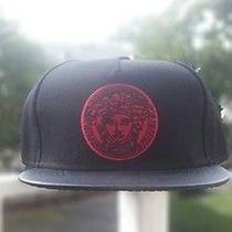 Versace Snapback Red Logo Photo