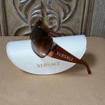 Versace Sunglass...just Like new..mo.2057   1052/13   120 Photo