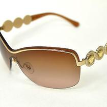 Versace Sunglasses 2146-B  col.1002/13 Gold/ Brown Gradient Photo