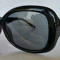 Versace Sunglasses 4177 Gb1/87 57x16 135  Black  Mother of Pearl Fertility Logo Photo