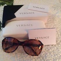Versace Sunglasses 4262 Brown Italy Photo