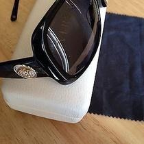 Versace Sunglasses Limited Edition Black Gold Mother of Pearl 4224-K Great Gift Photo