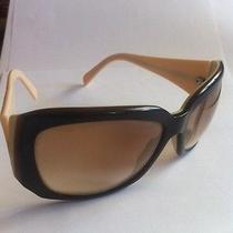 Versace Sunglasses Mod 4049 405/13 Beige Shades Authentic Euc Photo