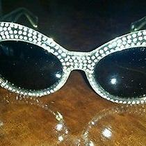Versace Sunglasses Rhinestones Photo