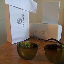 Versace Sunglasses v-4 Gold Photo