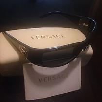 Versace Sunglasses Ve 4205b Gb1/81 Black/gold for Men Photo