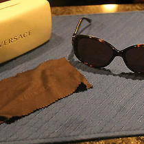 Versace Sunglasses With Case.  Women's Photo