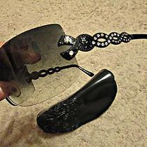 Versace Swarovski Sunglasses With Versace Case Retails 400 Photo