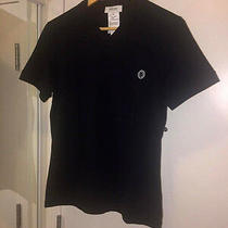 Versace Top T Shirt Black Nwt Size S -100% Authentic Photo